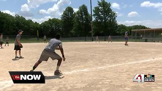 Blue Springs Police reach kids through baseball - Video