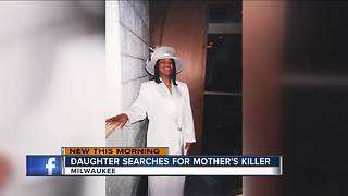 Milwaukee woman wants to find her mother's killer