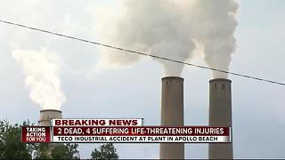 Explosion inside TECO plant kills 2, injures 4 - Video