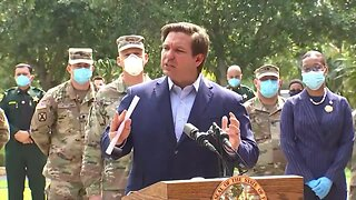 11AM UPDATE: Gov. DeSantis announces walk-up testing sites in Broward County
