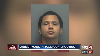 Arrest made in Zombiecon shooting