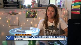 Local DACA recipient participates in hunger strike over protection for families - Video