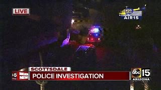 Police investigation underway in Scottsdale - Video