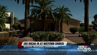 Tucson church burglarized