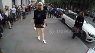 Ashley James and Charlotte de Carle attend LOTD launch party - Video