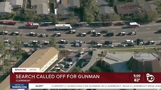 Search called off for Clairemont gunman