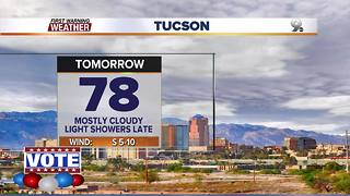Chief Meteorologist Erin Christiansen's KGUN 9 Forecast Monday, November 6, 2017 - Video