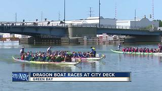 dragon boat races at CityDeck