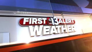 13 First Alert Weather for October 3 2017 - Video