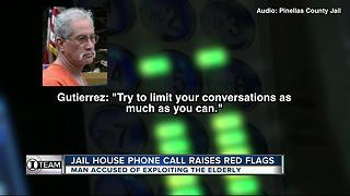 Jail house phone call raises red flags - Video
