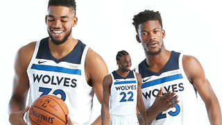 Andrew Wiggins Not Happy Being THIRD WHEEL To Jimmy Butler & Karl Anthony Towns - Video
