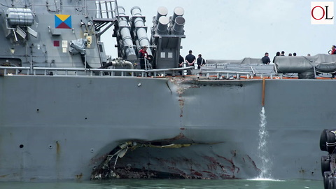 Navy Mishaps Suggest Larger Problem