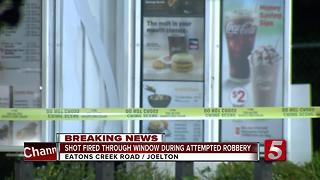 Gunmen Try To Shoot Out Joelton Drive-Thru Window - Video
