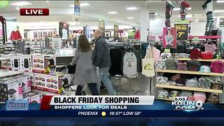 Shoppers dig into Black Friday deals - Video