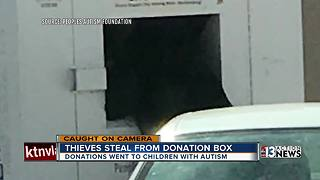 Thieves steal from autism foundation donations