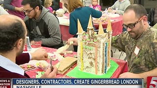 Designers Compete In Gingertown Contest - Video