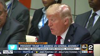 President Trump to give first speech to the U.N. General Assembly - Video