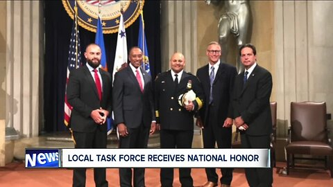 Northern Ohio's US Marshals Office receives top honor in Washington, D.C.