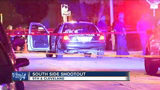 Milwaukee police looking for gunman in south side shootout - Video