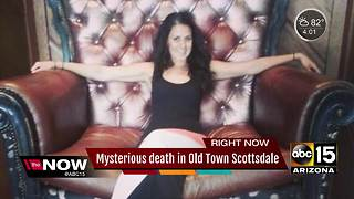 Woman found dead in Old Town Scottsdale - Video