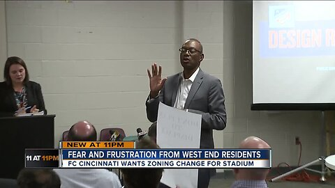 FC Cincinnati zoning change angers West End residents