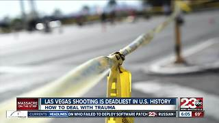 Clinical psychologist one of first responders in Las Vegas shooting, speaks out on emotional trauma - Video
