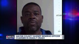 Wayne County reserve police officer charged in deadly drunk driving crash - Video
