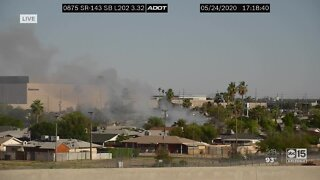 FD: Crews battling double house fire near 48th Street and Fillmore