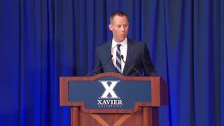 Travis Steele takes reins of Xavier University men's basketball program - Video