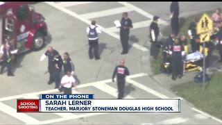 Teacher recounts Florida school shooting and aftermath