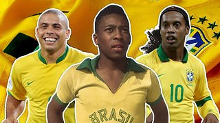 Greatest Brazil XI | Pele, Ronaldo, Ronaldinho! - Video