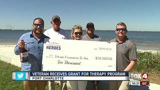 Veteran Receives Grant for Therapy Program - Video