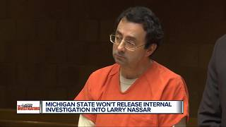 MSU 'must have something to hide' in Larry Nassar report, accusers say - Video