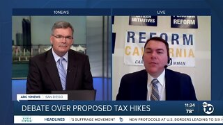 Debate over proposed tax hikes