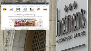 Is the concept of grocery shopping changing due to online ordering and delivery options? - Video