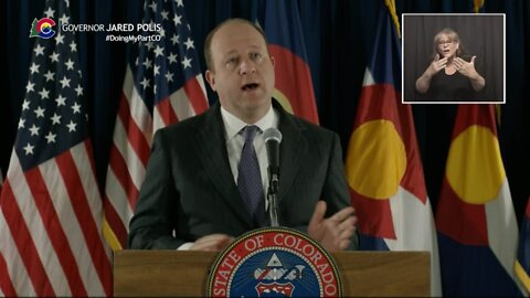 Gov. Polis announces order allowing businesses to require people to wear masks