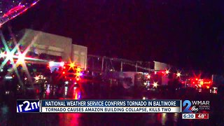 Tornado Kills Two in Amazon Building Collapse
