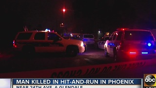 Man dead after PHX hit-and-run on New Year's Eve - Video