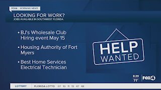 BJ'S, Housing Authority of Fort Myers, Best Home Services are hiring