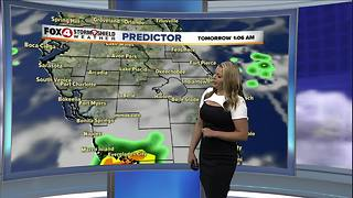 Hot, Humid, Scattered Storms This Weekend - Video