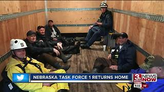 Helping Houston: Nebraska Task Force 1 to return Tuesday - Video