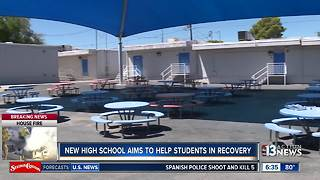 New school helps students battling drug addiction - Video