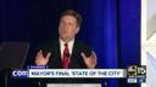 Mayor Stanton makes final 'State of the City' address - Video