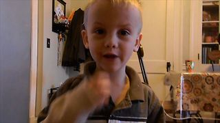 Black Widow Spiders Explained By A Kid - Video