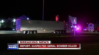 Report: Suspected serial bomber killed - Video