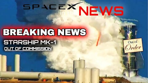 SpaceX Starship MK1 Tank Explodes On Test Stand | SpaceX in the News