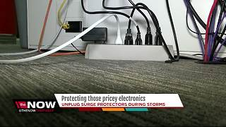 Protecting those pricey electronics - Video