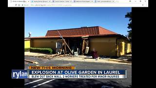 Explosion tears through MD Olive Garden - Video