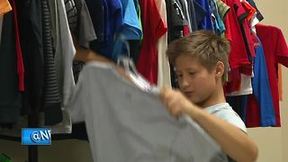 'Cool for School' event provides 700 children in need with new back to school outfits - Video