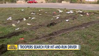 Troopers search for driver in fatal hit-and-run crash on U.S. 301 - Video